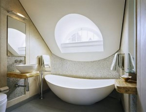 LuxuryContemporaryBathroom-making use of space