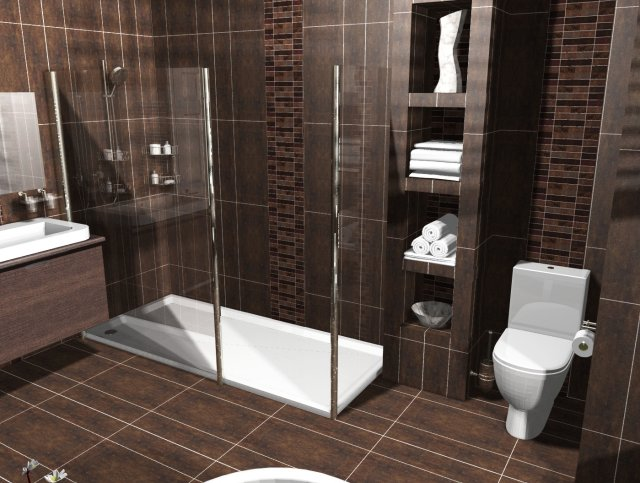 Bathroom design bathroom fitters bristol for Dark bathrooms design